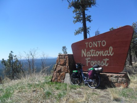 Tonto National Forest and Mogollon Rim